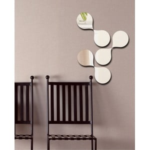 Dekorativní zrcadlo Molekuly