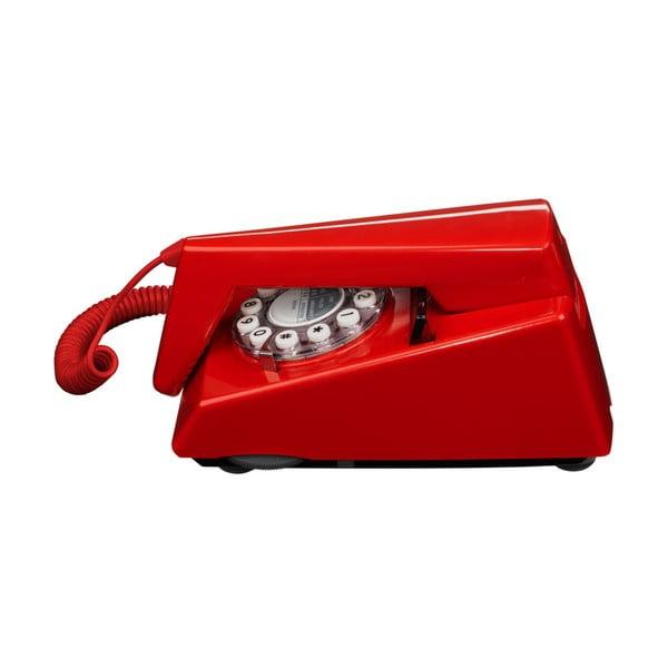 Retro funkční telefon Trim Red