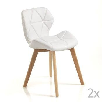 Set 2 scaune Tomasucci New Kemi Anna, alb de la Tomasucci