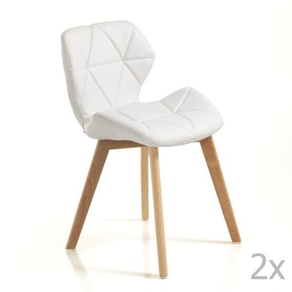 Set 2 scaune Tomasucci New Kemi Anna, alb