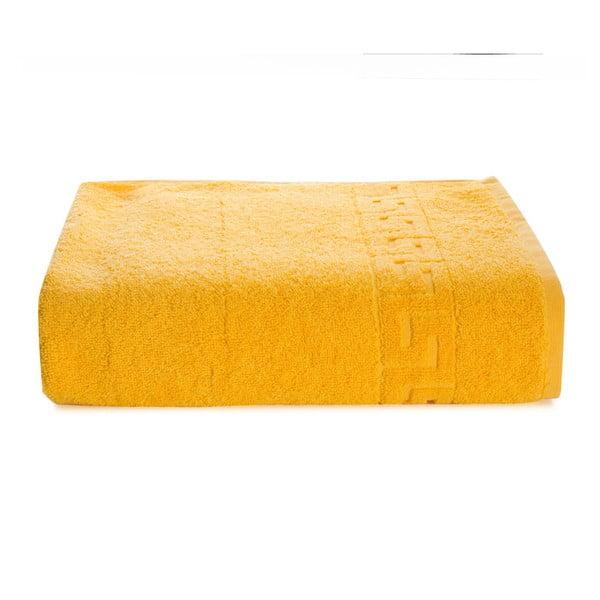 Žlutý bavlněný ručník Kate Louise Pauline,30x50cm