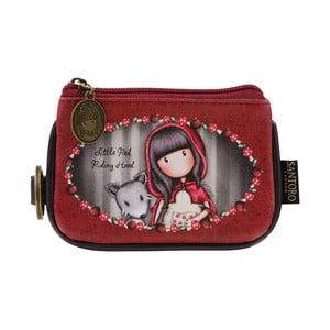 Malá peněženka na mince Gorjuss Little Red Riding Hood