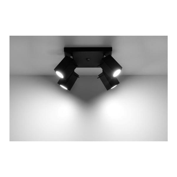 Plafonieră Nice Lamps Toscana 4 Black