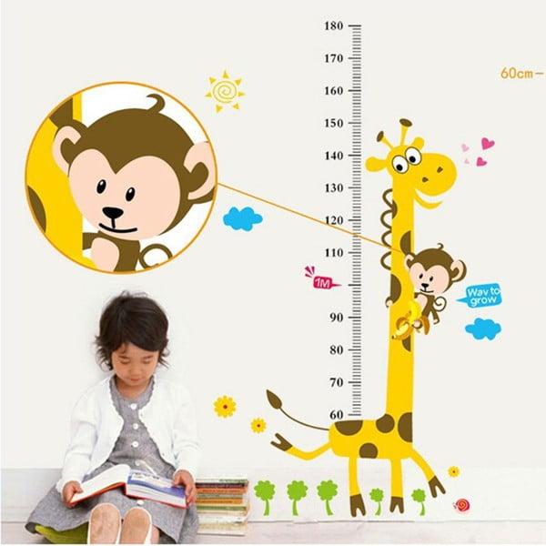 Dekorativní samolepka Giraffe
