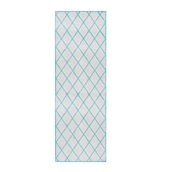 Magic Scale szürke-kék futószőnyeg, 50 x 150 cm - Hanse Home