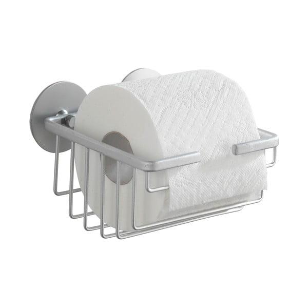 Samodržící stojan na toaletní papír Wenko Alumimium, až 40 kg