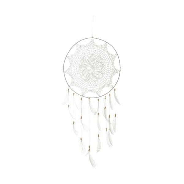 Bílý lapač snů Unimasa Dream, ⌀ 40 cm