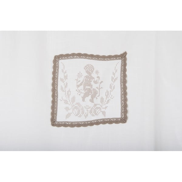 Závěsy Amorin 90x240 cm, bílé