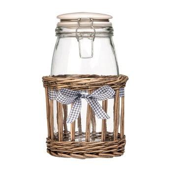 Recipient din sticlă Premier Housewares Country Cottage, 1,5 l