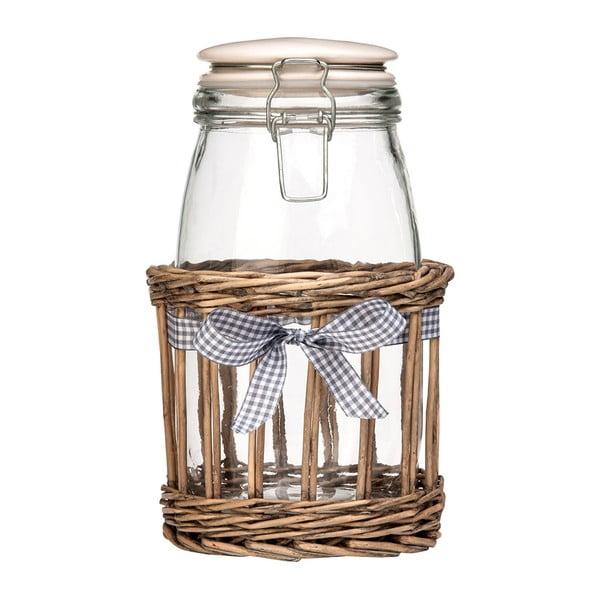 Pojemnik szklany Premier Housewares Country Cottage, 1,5 l