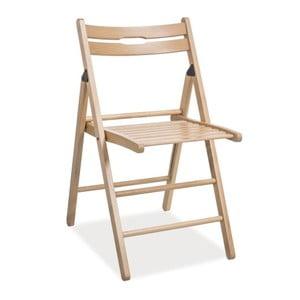 Skládací židle Smart, přírodní