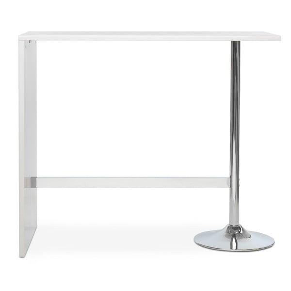 Bílý barový stolek Intertrade Party Bar