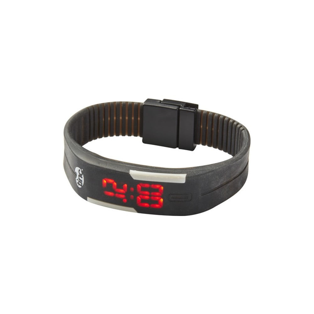 Černé LED hodinky TINC Glow  5e2e212385c