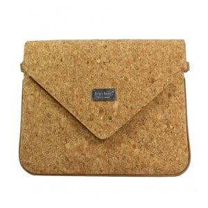 Hořčicově hnědá kabelka Dara bags Envelope No.553