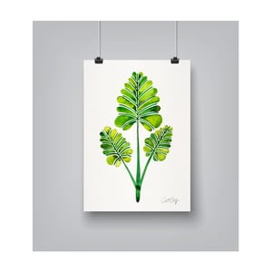 Poster Americanflat Leaf Trifecta, 30 x 42 cm