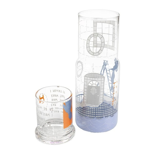 Skleněná karafa Lighthouse, 1 litr
