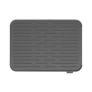 Tmavě šedý silikonový odkapávač Brabantia, 43,8x32,5cm