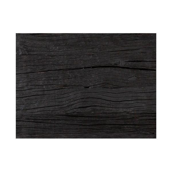 Konferenční stolek s deskou z exotického dřeva Canett Hayes, délka 80 cm