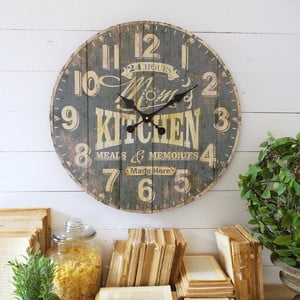 Nástěnné hodiny Orchidea Mom Kitchen