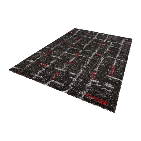 Tmavě šedý koberec Mint Rugs Nomadic Resso, 160 x 230 cm