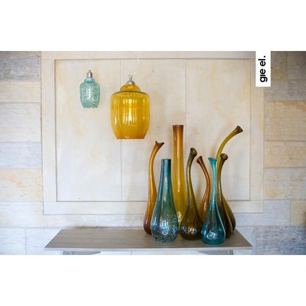 Labutí váza 55-60 cm, tyrkysová