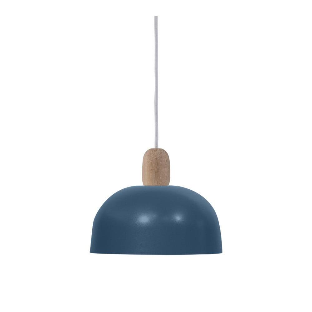 Modré závěsné svítidlo HARTÔ Nina