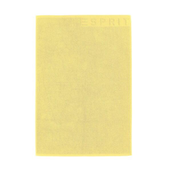 Koupelnová předložka Esprit Solid 60x90 cm, žlutá