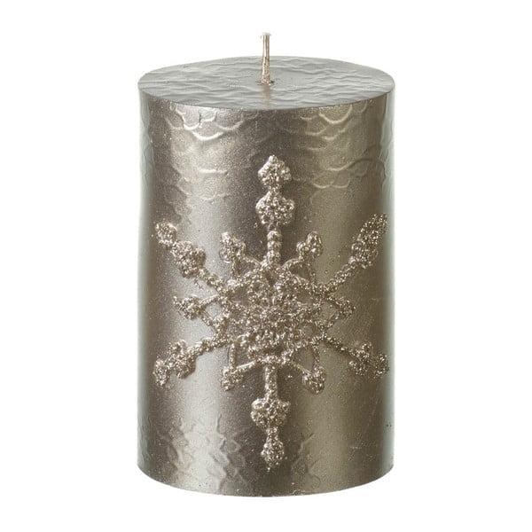 Zlatá svíčka Parlane Pillar, výška 10.5 cm
