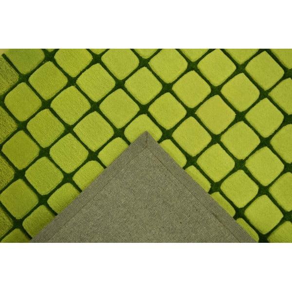 Koberec Casablanca Square 170x240 cm, zelený