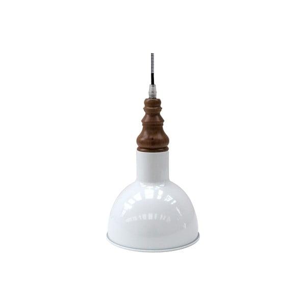 Bílé závěsné světlo Red Cartel Lazara, 14 cm