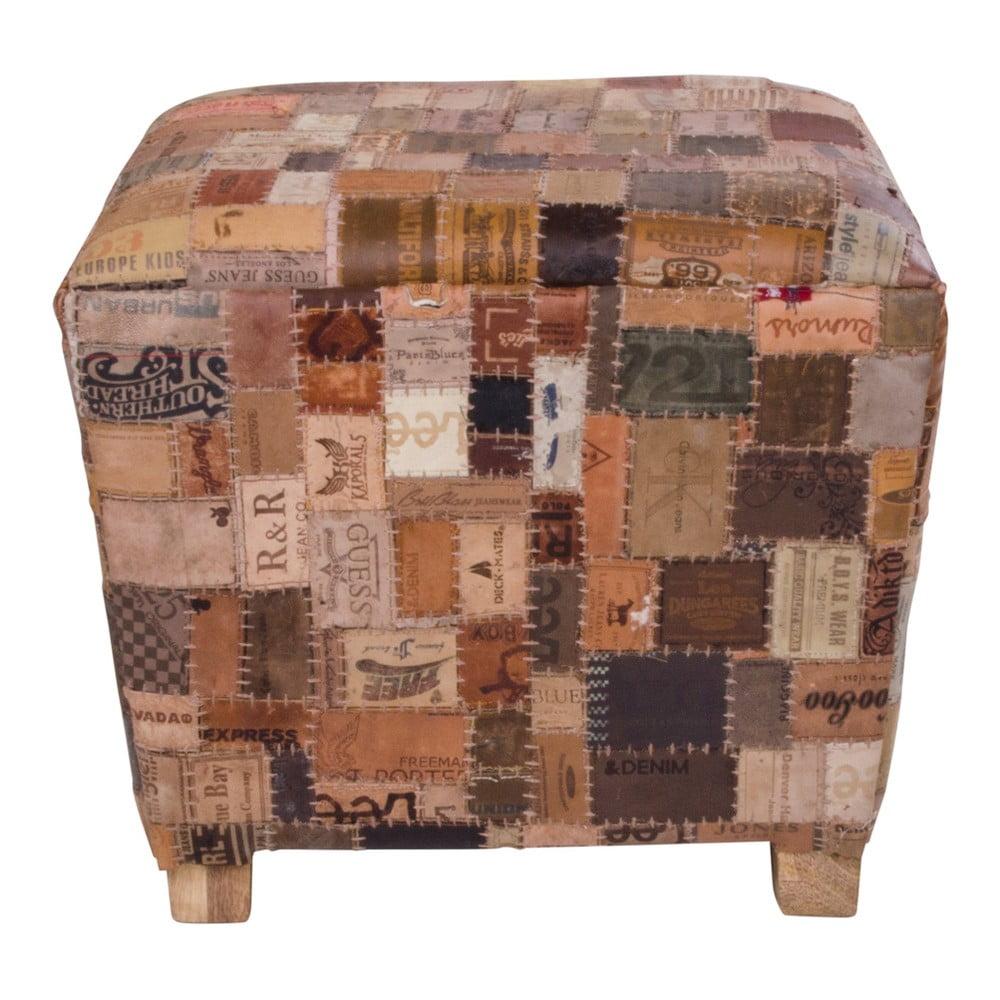Kožená stolička House Nordic Timur