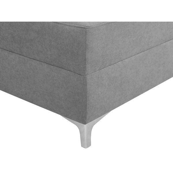 Světle šedá rozkládací rohová pohovka Windsor & Co Sofas Zeta, pravý roh