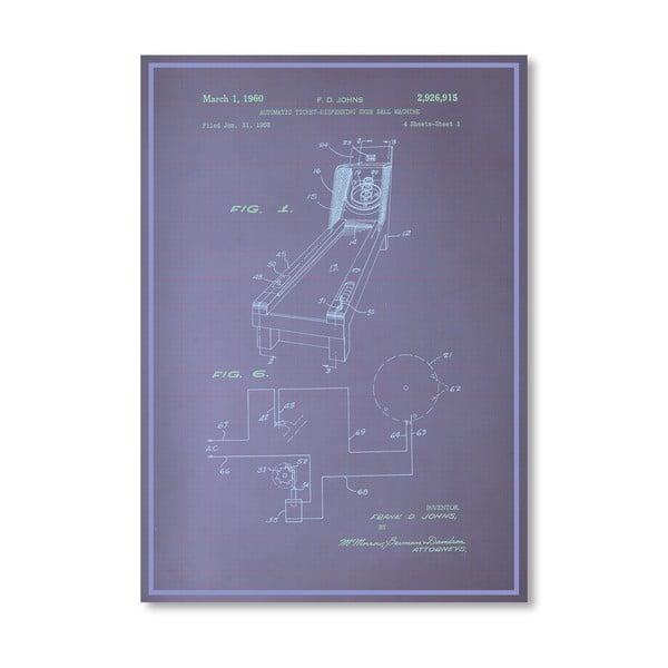 Plakát Skee Ball, 30x42 cm