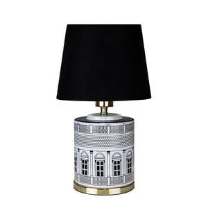 Černá stolní lampa GlobenLighting Florence