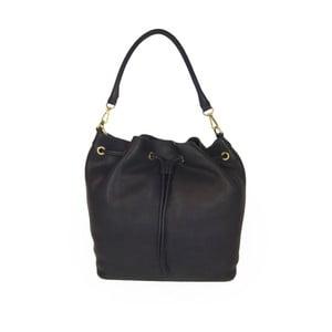 Tmavě modrá kožená kabelka O My Bag The Donna