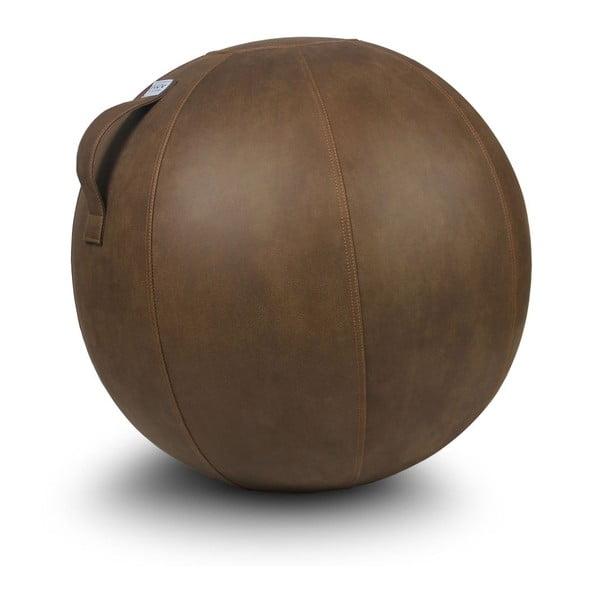 Hnědý sedací míč VLUV, 75 cm