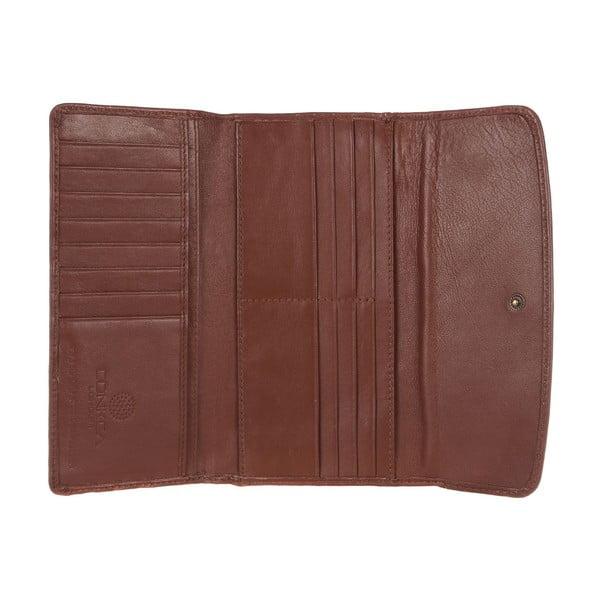 Dámská kožená peněženka Imogen Whiskey Leather Purse