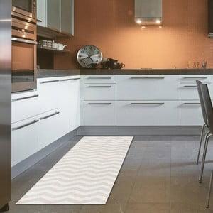Vysoce odolný kuchyňský běhoun Webtappeti Optical Beige,60x220cm