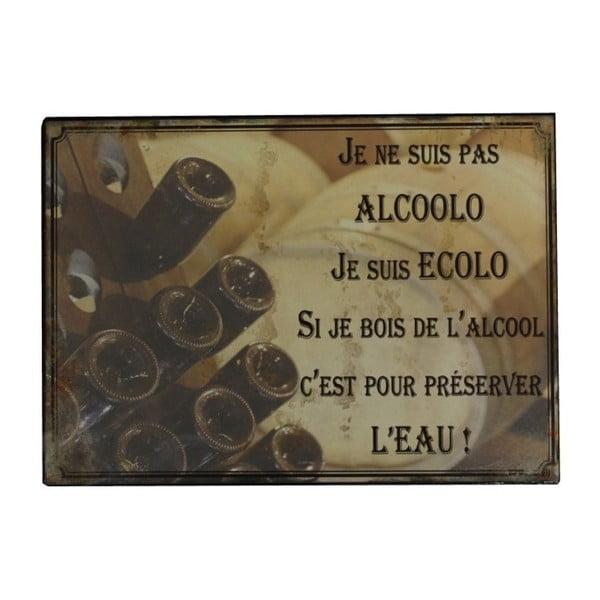Plechová cedule Antic Line Alcoolo