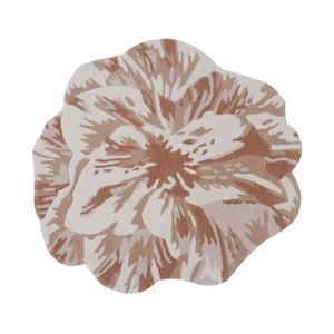 Vlněný koberec Juniper Beige, 90 cm