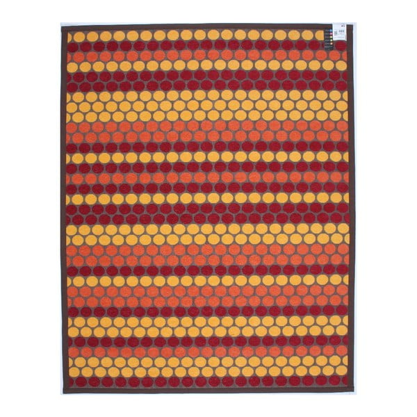 Koberec NW Brown/Red/Yellow, 80x150 cm