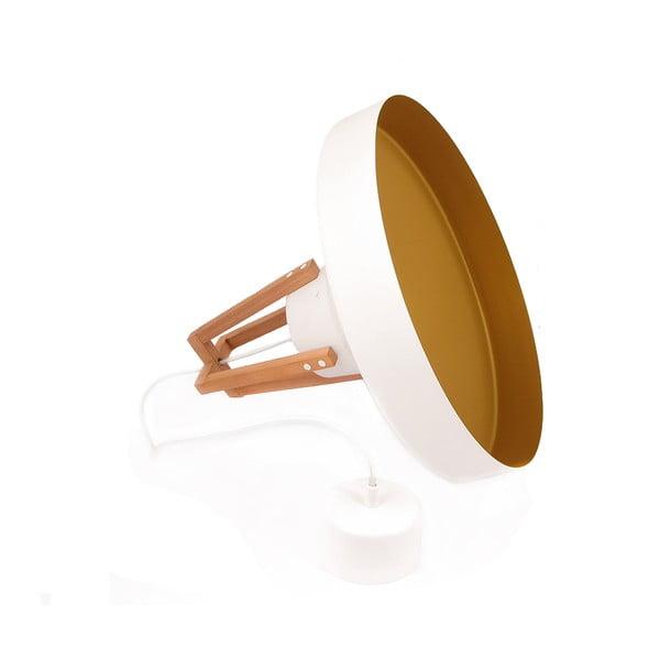 Bílé stropní světlo Loft You Work, 33 cm