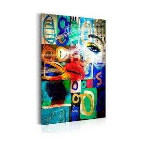 Tablou Bimago Kiss of Modernity 31 x 46 cm