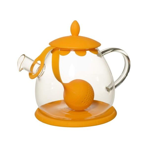 Čajová konvice se sítkem Ramponi Orange