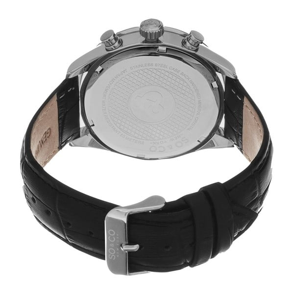 Pánské hodinky Monticello Style Silver/Black