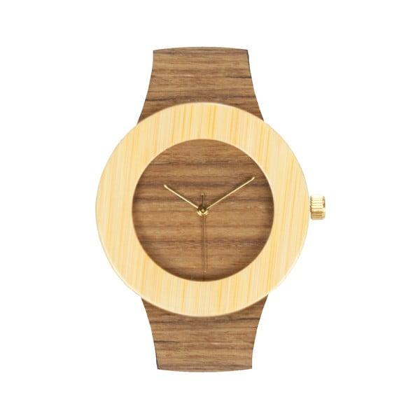 Dřevěné hodinky Analog Watch Co. Teak & Bamboo