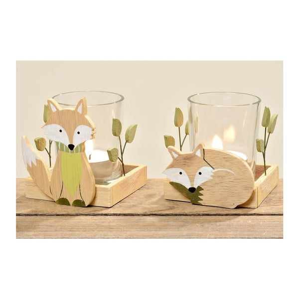 Sada 2 svícnů Foxy Falk