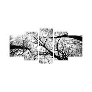 Vícedílný obraz Black&White no. 95, 100x50 cm