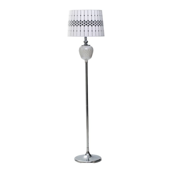Biała lampa stojąca Mauro Ferretti Round