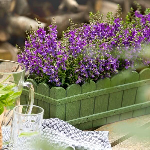 Vysoce odolný květináč na parapet Country 75 cm, antracit